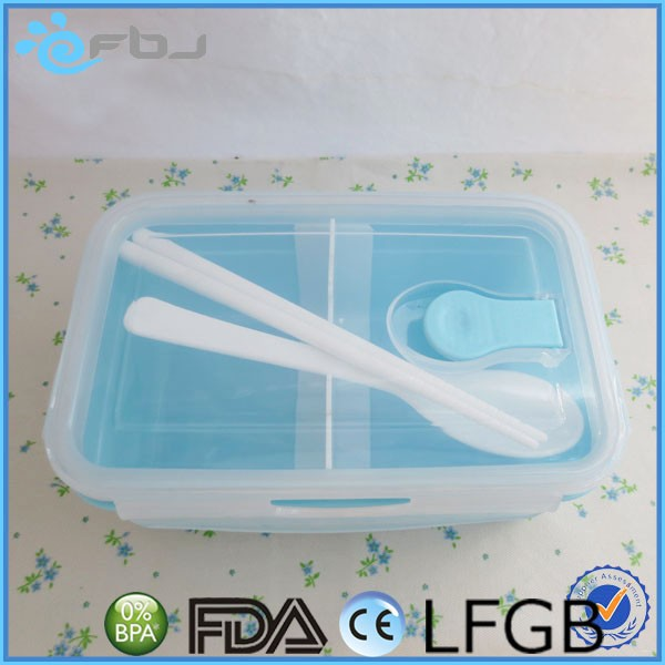 Microwave Oven-Safe Lunch Box Heating Plastic