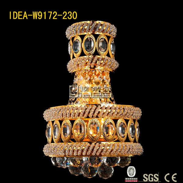 W9172-230 crystal wall lamp lightings sconce