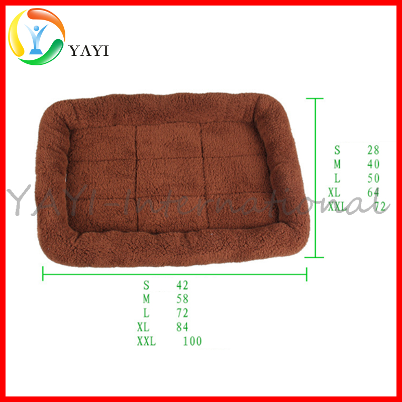 Basic Padded Pet Bolster Dog Bed