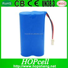 HOPcell recharge Lithium ion Li ion 7.4V 1000mAh 14650 Li-ion Rechargeable Battery Pack