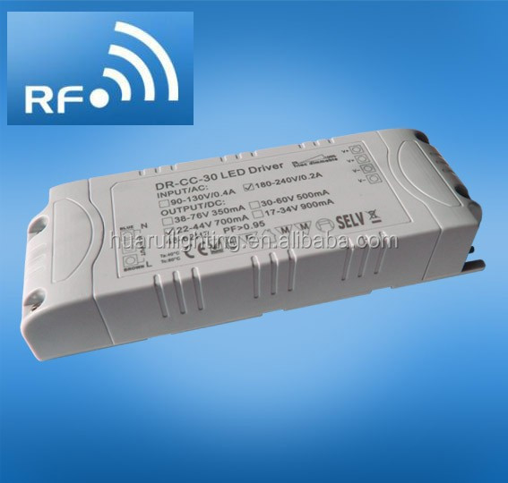40W 2700ma 12v 2.4G RF Dimmable constant voltage LED power driver high quality with CE