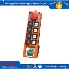 8 buttons hoist remote control industrial use transmitter