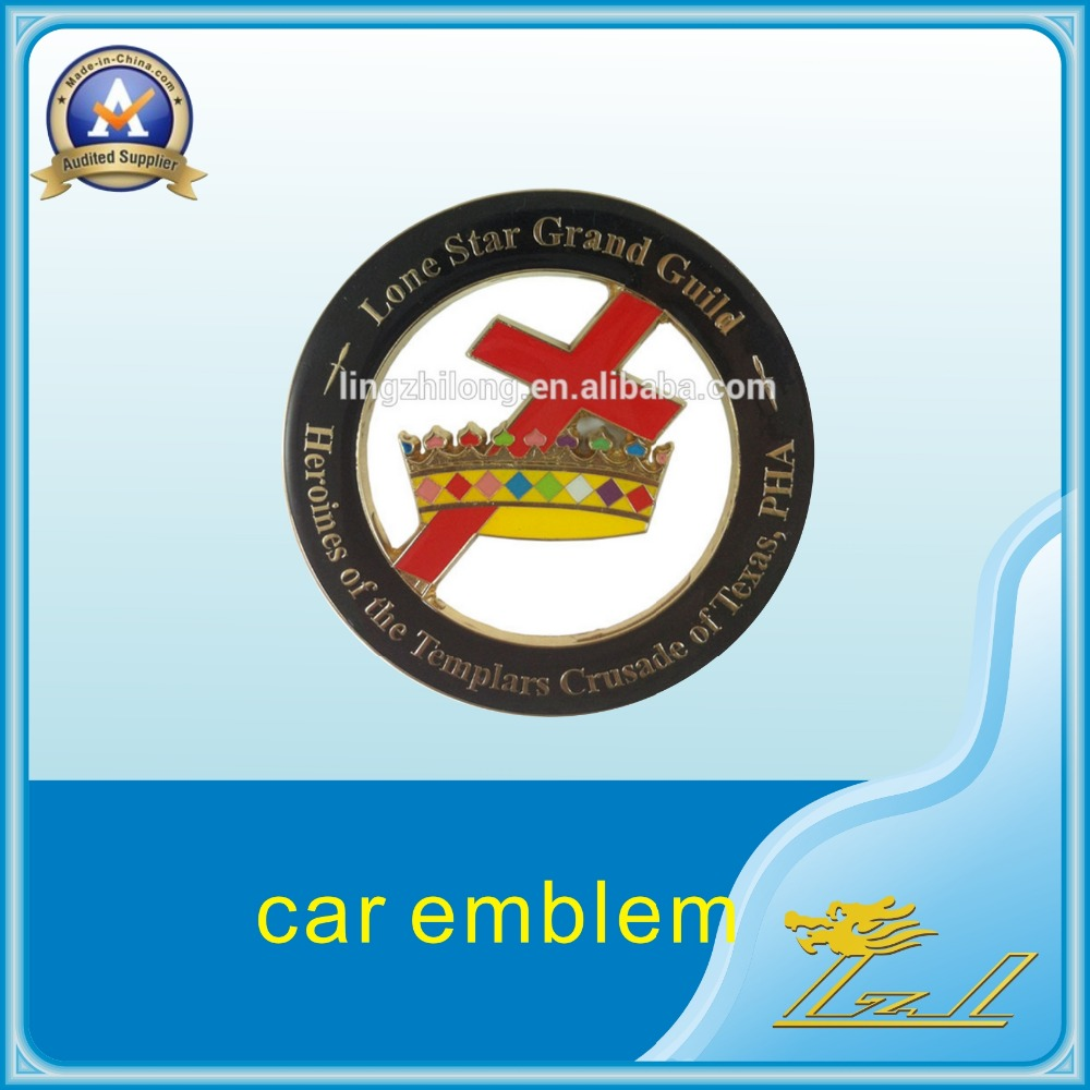 Free shipping car chrome badge emblem