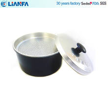 High Quality Chinese Factory Round Aluminum Filter Box with Cover