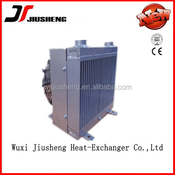 Hight Colling Effective Aluminum Plate Bar Brazing Hydraulic Oil Cooler With Fan