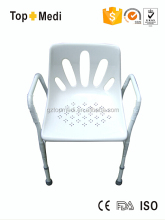 Aluminum Lightweight Folding with easy to clean shiny seats Bathroom Safety Bath Chair Bench
