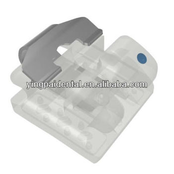 Ceramic Orthodontic Edgewise Brackets