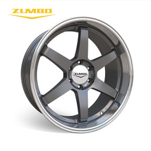 "Zumbo-S0033 Gunmetal lip machined light alloy wheel automotive rims 6x139.7 fit for Toyota fortuner hilux 2017 17"" 18"" 20"" 22"""