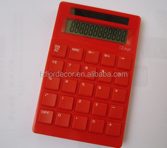 promotional Solar desktop calculator novelty 12 digits calculator CT0237