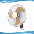 18 Inch 6m Distance Remote Control Electric Home Wall Mounted Oscillating Fan