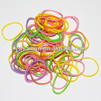High temperature resistance natural colored rubber band for money elastic rubberband