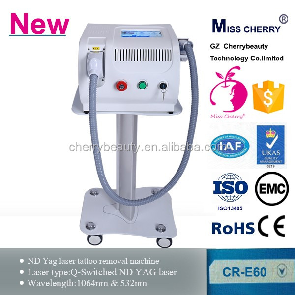 factory price laser tattoo removal machine with 9 kinds of languages