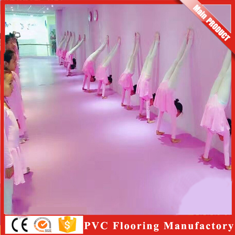 Super Durability Dance Homogeneous Recycled Pvc Flooring