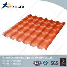 coloring synthetic resin corrugated plastic pvc roof tile sheet