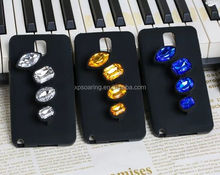 New Design Diamond Ring silicone case cover for Samsung Galaxy Note 3