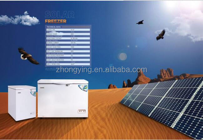 BD-80 top open single door solar power chest freezer