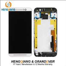LCD glass touch display For HTC One M9 LCD with home button repair