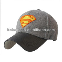 2014 hot sale perfect cold cap with leather visor