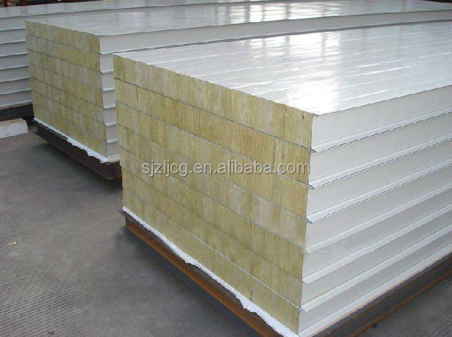 Rockwool Sandwich Panel Factory Rock Wool Fire Rated