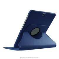 Hot sale Rotary Stand leather Cover Case For Galaxy Tab S2 9.7 SM-T810, leather rotary case for galaxy tab s2