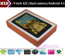 Allwinner a23 Cortex A8 Android 4.1 512MB/8GB Capacitive Screen WIFI dual camera tablet 9 inch tablet pc buy direct from german
