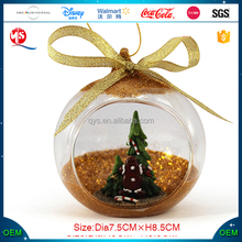 Glass Ornaments For Christmas Tree Indoor Decoration
