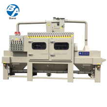 Abrasive Blast Cleaning Equipment Electronic Industry Electric Crawler Abra / Transmission sandblast cabinet with dust collector