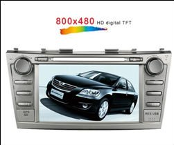 TOYOTA CAMRY car DVD palyer GPS navigation auto stereo player