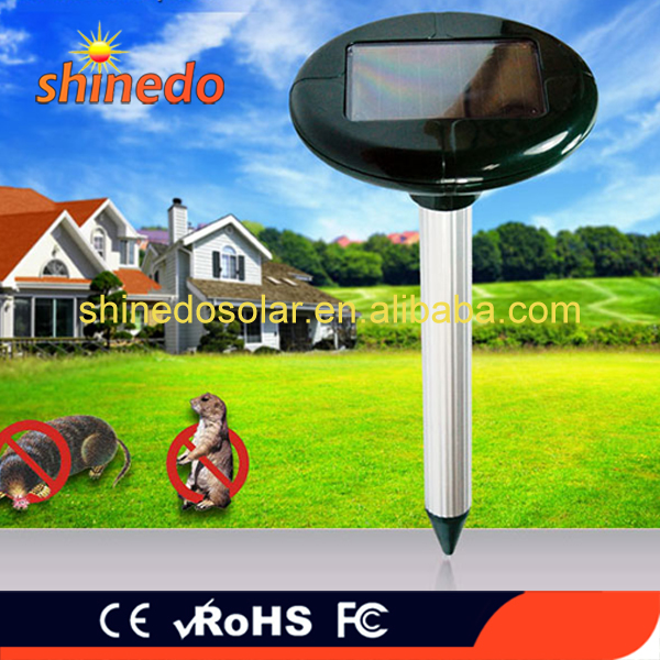 2017 cheap solar bird repeller electronic anti bird device with CE ROHS certification