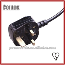 13A british power cord BS 1363 UK plug