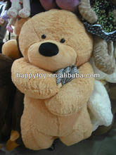 HI hot sales high quality 2013 valentine plush dog with heart