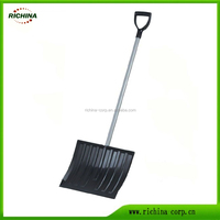 plastic & steel snow shovel, Snow Push Shovel, Snow pusher,