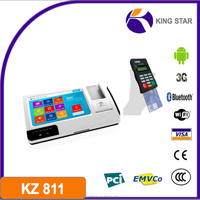 Android tablet pos with 3G,WIFI terminal/barcode reader/Bluetooth/NFC Magcard Smart card
