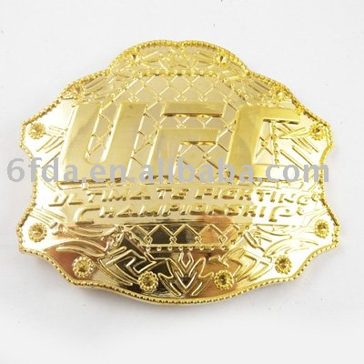 2013 Gold Plated Custom Belt Buckles