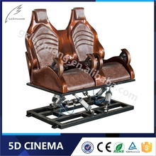 Indoor Playground Equipment Hydraulic/Electric 3D 4D 5D 6D Cinema Theater Movie System Suppliers