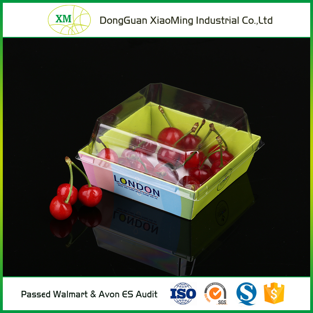 China manufacturer 0.3-0.8mm thickness fruit and vegetable packaging trays
