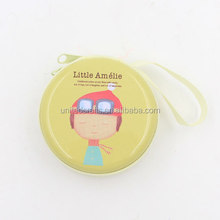 Round tin mini handbag coin purse