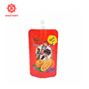 Wholesale Packaging Printed Spout Pouch Bag