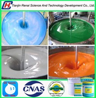 Hot exported water-based inorganic zinc anticorrosive primer