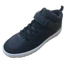 High Top Upper PU Lace UP men casual shoes