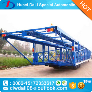 Steel Material 2-3 Axles Carrying Trailer/ car truck trailer /Auto Car SemiTrailer for sale