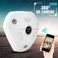 Newest 360 Degree Panorama VR Camera HD 960P Wireless WIFI IP Camera Home Security Surveillance System Hidden Webcam CCTV P2P