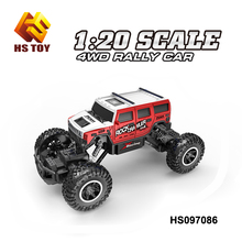 Rechargeble 1/20 Scale Rock Crawler Car 2.4G Hz High Speed RC Monster Toy Truck