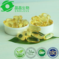 high quality pure organic best food supplement fish oil softgel with GMP