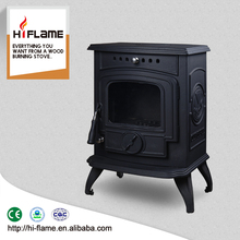 Best selling 5KW antique cast iron stove design freestanding fire place HF332