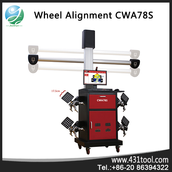 large car four-wheel alignment cost and balancing machine for car