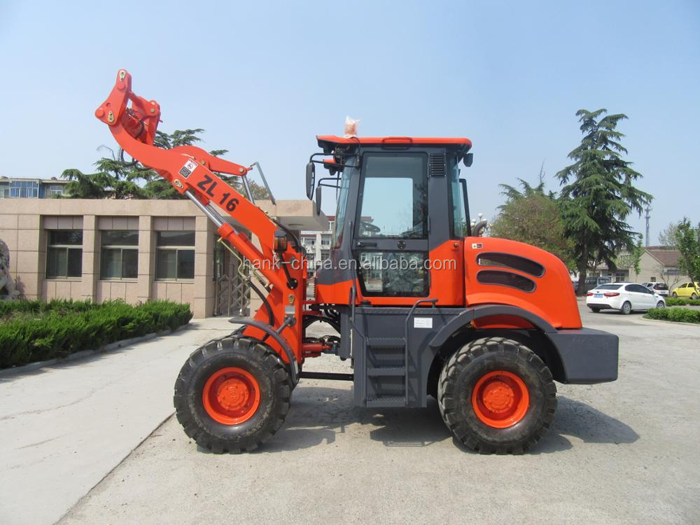 2017 NEW design mini wheel loader