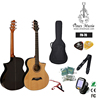 FN70 40' high quality spruce top rosewood back sharp cutaway body korean acoustic guitar China musicial instrument
