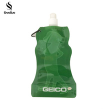 Small Standup Reusable Packaged Disposable Drinking Water In Plastic Spout Pouch Bags