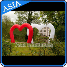 Inflatable Led Party Decoration Arch, Giant Wedding Flower Arch Decoration